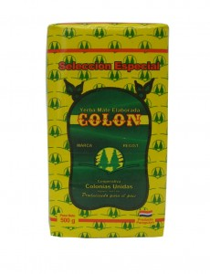 Yerba mate Colon Especial 250/500/1000g