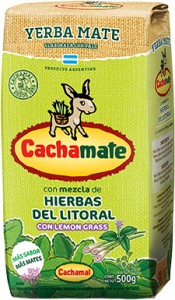 Yerba Mate Cachamate Hierbas del Litoral 500g
