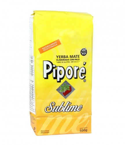 Yerba mate Pipore Sublime 500g