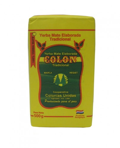 Yerba mate Colon Tradicional 500g